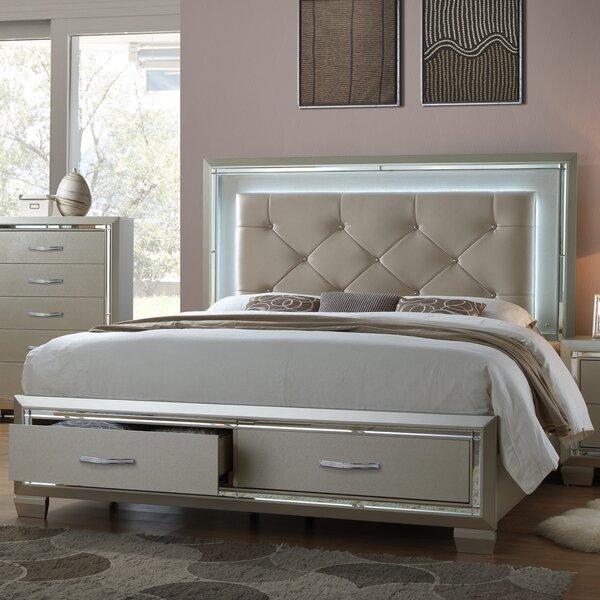 Quattlebaum Upholstered Storage Platform Bed by Harriet Bee