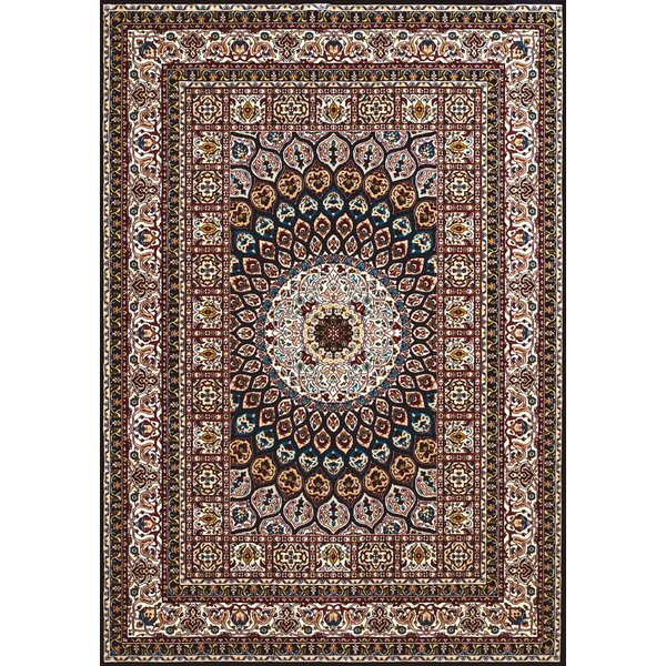 Antiquities Jaipur Brown/Beige Area Rug by United Weavers of America