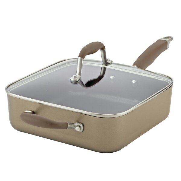 4 qt. Non-Stick Saute Pan with Lid by Anolon