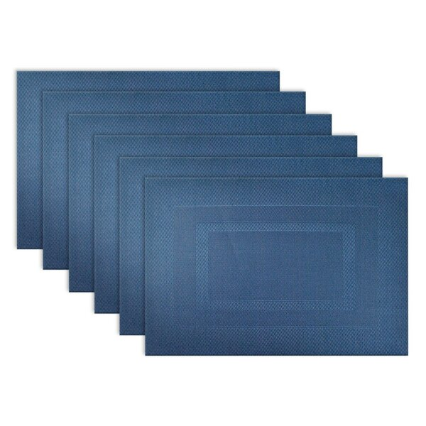 Zapata Double Frame Kitchen 18 Placemat (Set of 6)