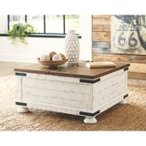 Trunk Storage Gracie Oaks Wood Top Coffee Tables You Ll Love In