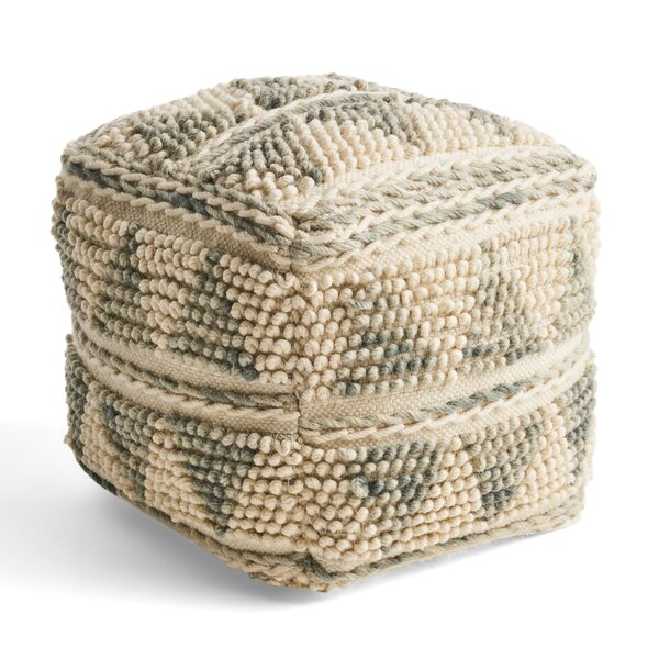 Kampmann Tufted Pouf by Bungalow Rose