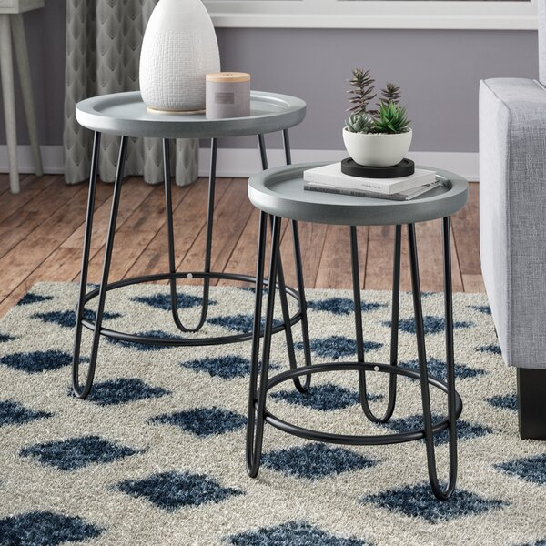 Perryville 2 Piece Nesting Tables by Wrought Studio