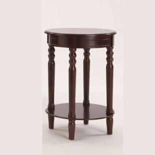 Pharsalia Round Wooden Console Table ByCharlton Home