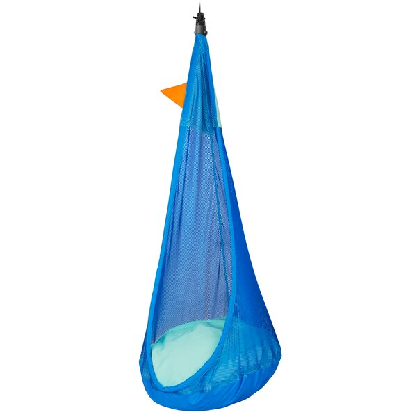 Joki Air Max Kids Hanging Nest Outdoor Swing Chair by LA SIESTA