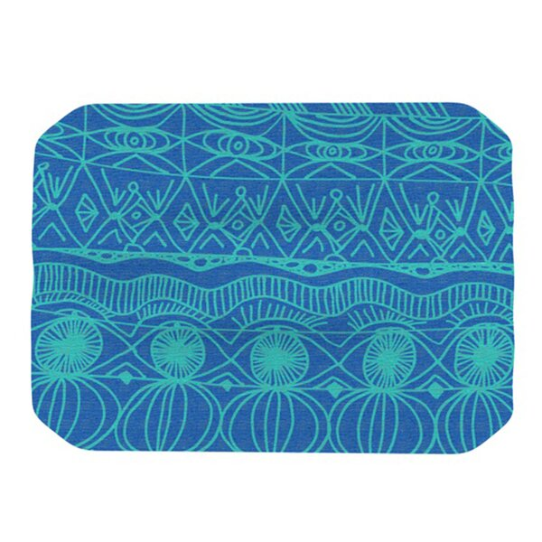 Beach Blanket Confusion Placemat by KESS InHouse