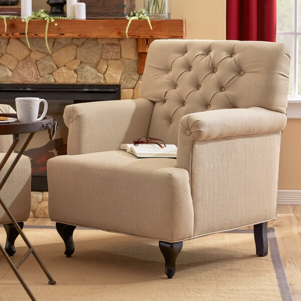 Viqueque 20-inch Armchair by Charlton Home Charlton Home