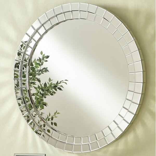 Wheless Contemporary Round Accent Mirror by Latitude Run