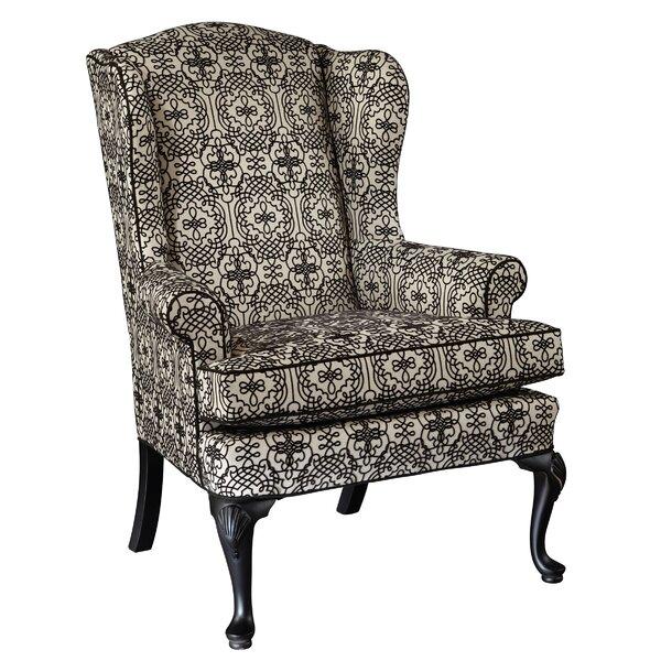 Grace Wingback Chair by Hekman
