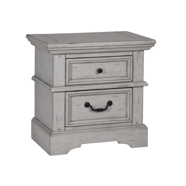 Wallner 2 Drawer Nightstand by Ophelia & Co.