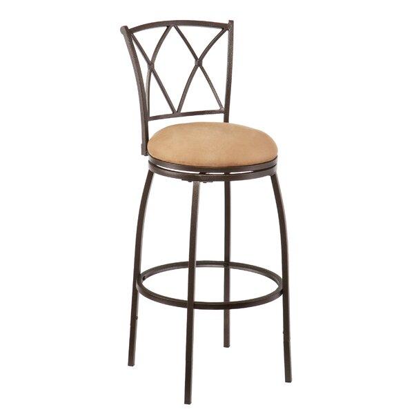 Fairfax Adjustable Height Swivel Bar Stool by Wildon Home ®