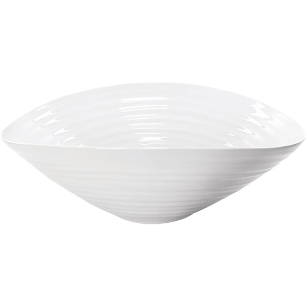 Sophie Conran White Salad Bowl by Portmeirion