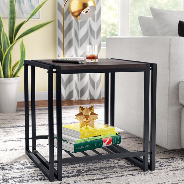 Fogg End Table by Ivy Bronx