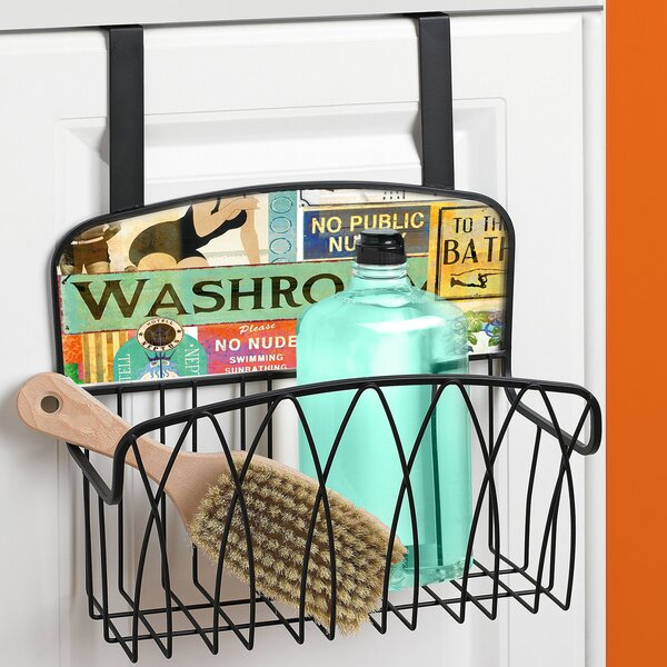 Washroom Over the Door Organizer by Stupell Industries