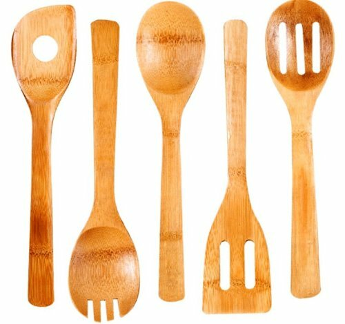 5 Piece Bamboo Kitchen Tool Set by Cook N Home