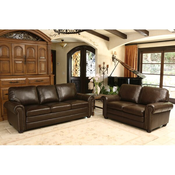 Bolling Leather Configurable Living Room Set by Da