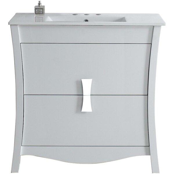 Cataldo Floor Mount 36 Single Bathroom Vanity Set by Royal Purple Bath Kitchen