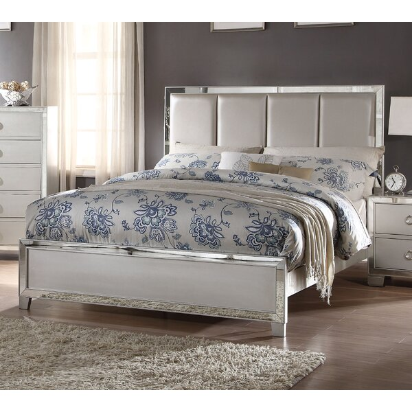 Isai Upholstered Panel Bed by Rosdorf Park