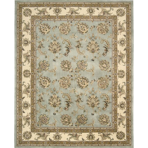 Ottoville Hand-Tufted Blue/Beige Area Rug by Darby Home Co
