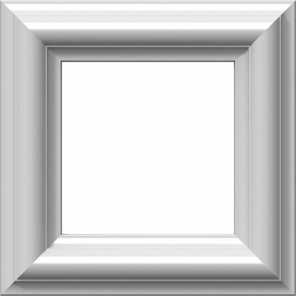 Ashford 8H x 8W x 1/2D Molded Classic Wainscot Wall Panel by Ekena Millwork