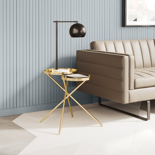 Ventura 2 Piece Nesting Tables by Everly Quinn Everly Quinn