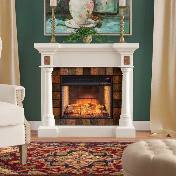 Farmington Infrared Electric Fireplace by Astoria Grand