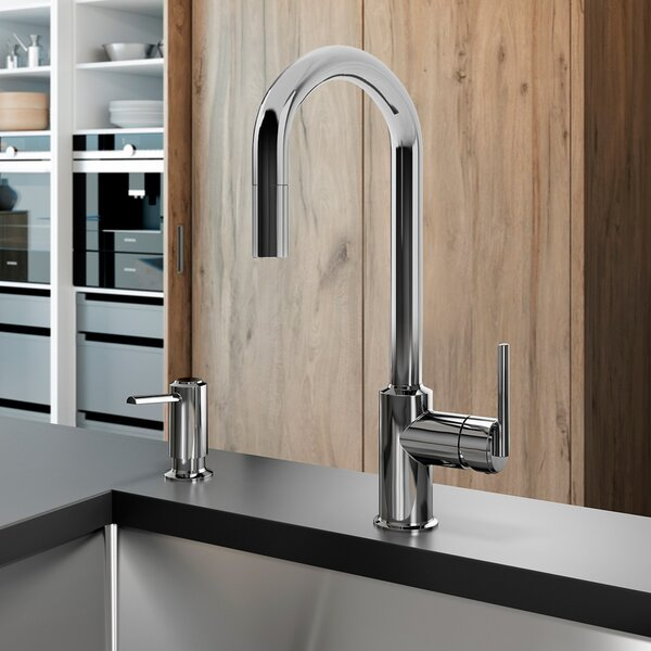 Cite Diver Pull Down Touch Single Handle Kitchen Faucet