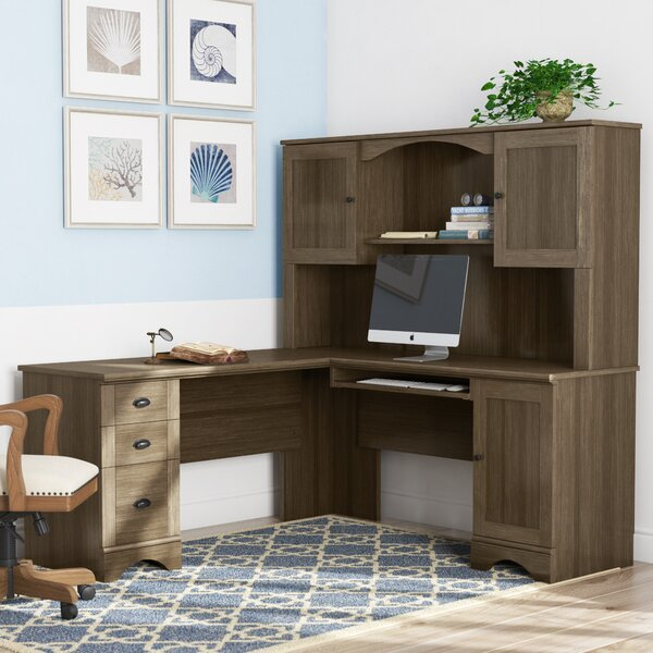 Awesome Pinellas Reversible L Shape Computer Desk With Hutch By Beachcrest Home Gmtry Best Dining Table And Chair Ideas Images Gmtryco