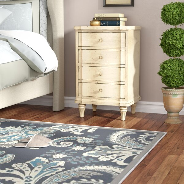 The Classic Portfolio European Cottage 4 Drawer Nightstand by Stanley Furniture