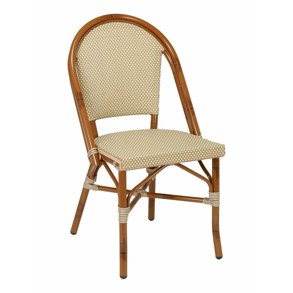 Bistro Stacking Patio Dining Chair by Florida Seating
