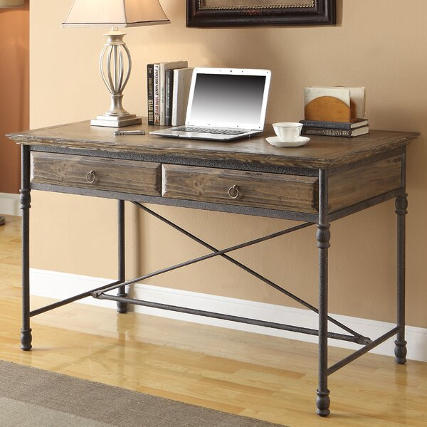 Mabie Executive 2 Drawer Writing Desk by Trent Austin Design