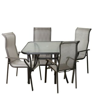 Asay 5 Piece Outdoor Patio Dining Set By Darby Home Co
