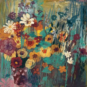 'Multi Floral' by Alan Hopfensperger Painting Print on Wrapped Canvas by Marmont Hill
