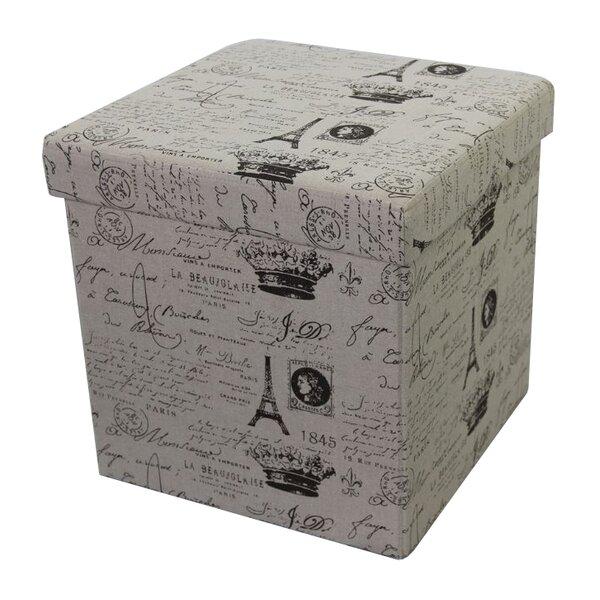Paris Storage Ottoman by Woodland Imports