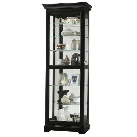 Britten Lighted Curio Cabinet By Darby Home Co Spacial Price