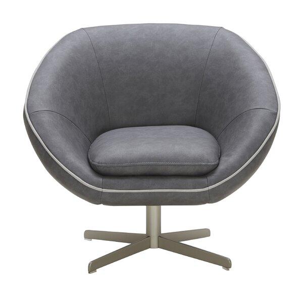 Yohana Swivel Lounge Chair by Orren Ellis