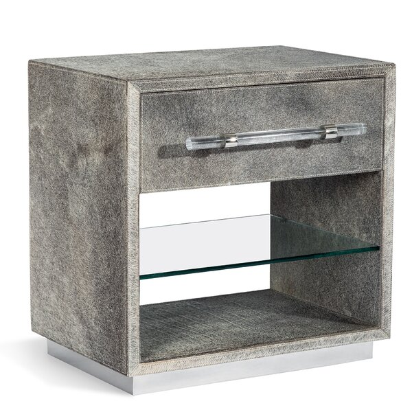 Cassian 1 Drawer Nightstand by Interlude