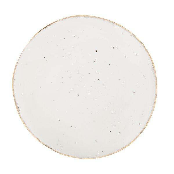 Hunt Christmas Chic 10 Ceramic Dinner Plate by Gracie Oaks