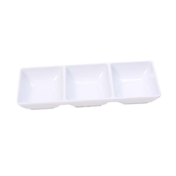 Melamine Relish Divided Serving Dish by Symple Stuff