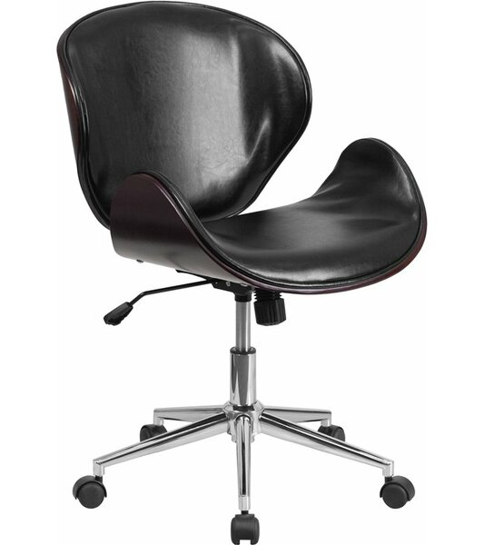 Cutler Mid-Back Swivel Guest Chair by Corrigan Studio