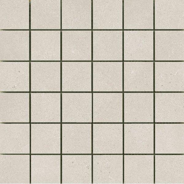 Alpha 2 x 2 Ceramic Mosaic Tile in Silver by Emser Tile