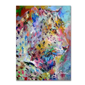 'Art Leo' Print on Wrapped Canvas by Trademark Fine Art