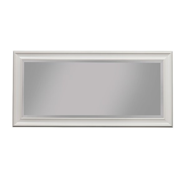Mccaleb Rectangular Polystyrene Frame Full Length Mirror by Winston Porter