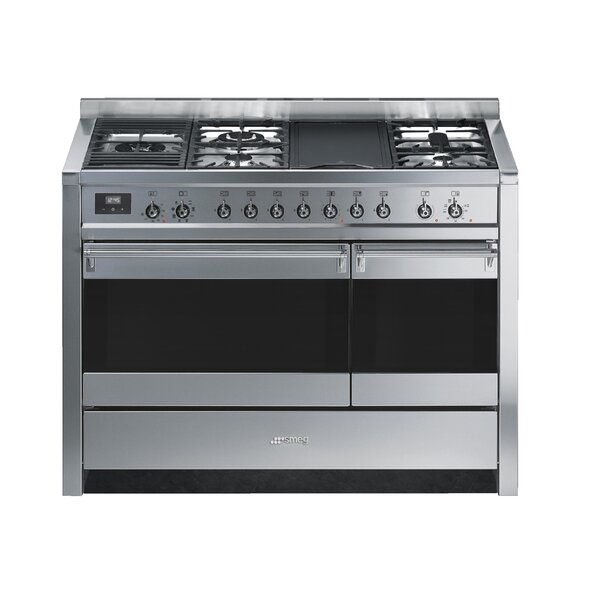 Opera 47 3.2 cu ft. Freestanding Dual Fuel Range with Griddle