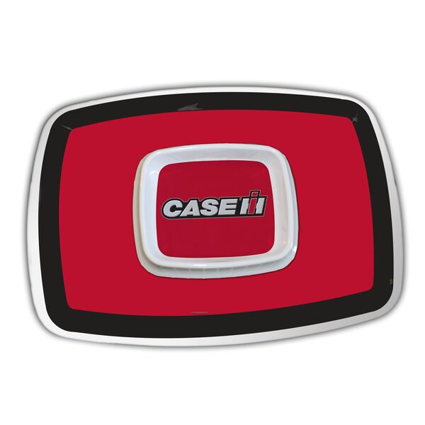 Case IH Melamine Chip and Dip Tray by MotorHead Products