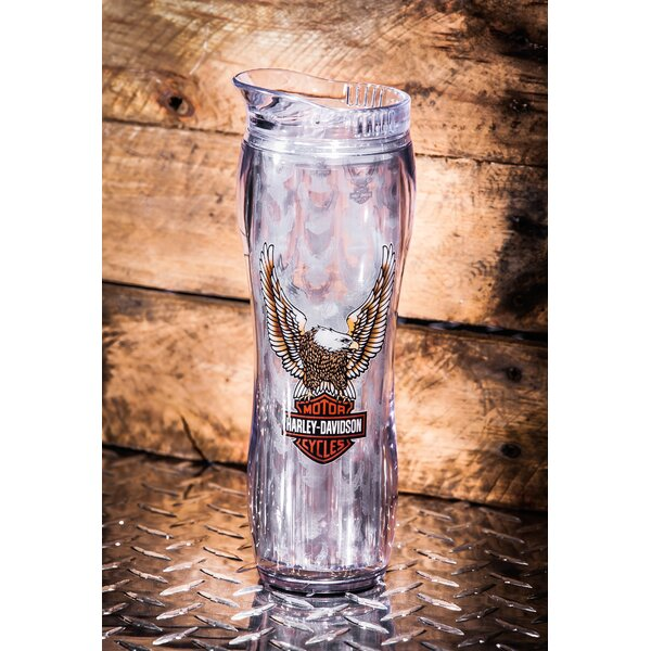 Harley-Davidson® 16 oz. Plastic Travel Tumbler by Evergreen Enterprises, Inc