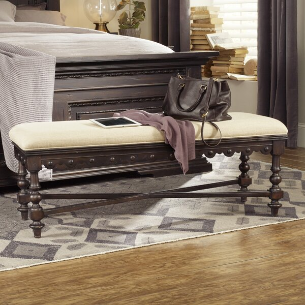 Treviso Wood Bench by Hooker Furniture