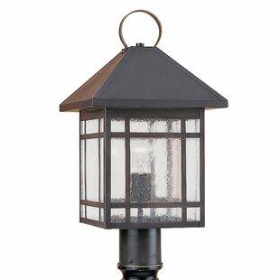 Compare prices Birute Outdoor Post Lantern By Bloomsbury Market