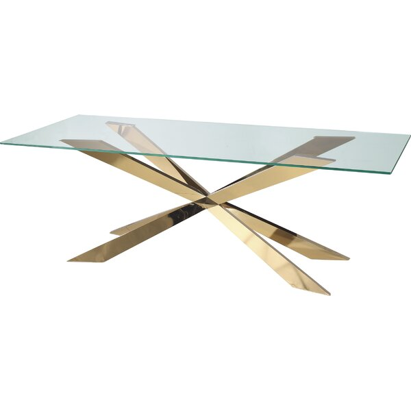 Shila Dining Table by Everly Quinn