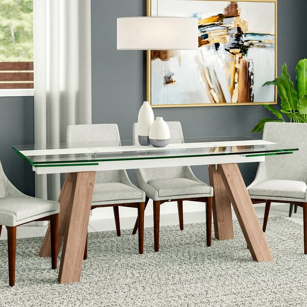Peter Extendable Dining Table by Wade Logan